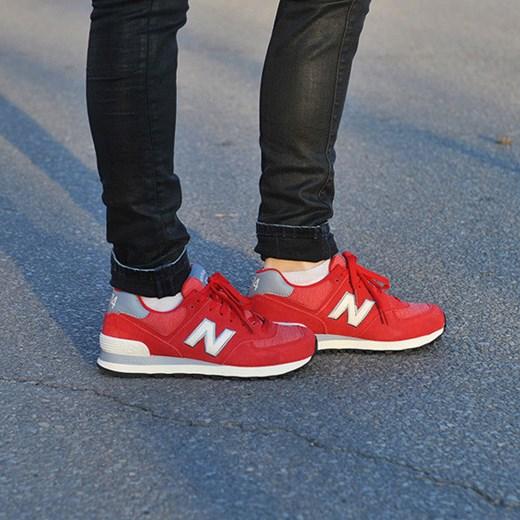 BUTY NEW BALANCE WL574PBW sneakerstudio pl niebieski skóra