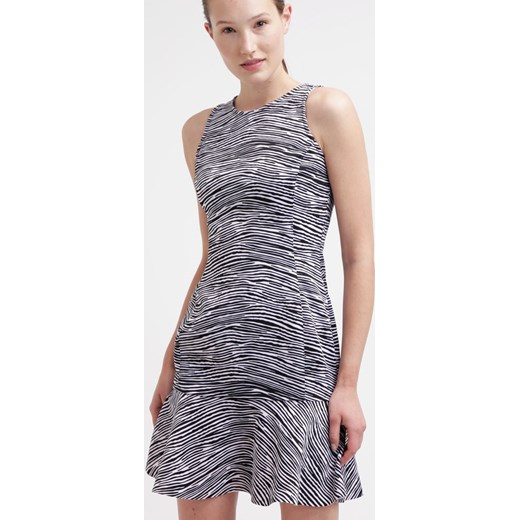 e06bd4d82e8f2 Guess ERMIN Sukienka letnia black zalando szary abstrakcyjne wzory w ...