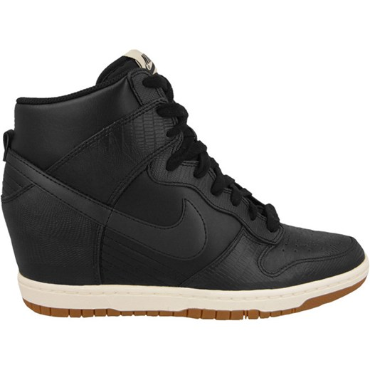 the latest d555e b5a77 BUTY NIKE WMNS DUNK SKY HI 528899 012 yessport-pl czarny guma ...