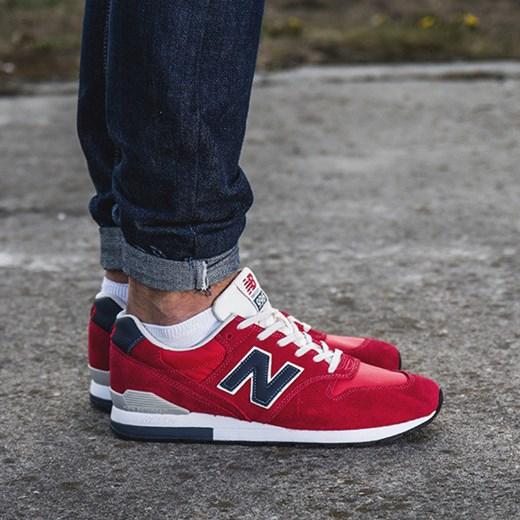 new balance 996 męskie czerwone