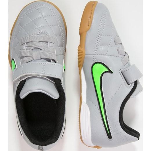 sklep internetowy nowe wydanie najniższa zniżka Nike Performance TIEMPO V4 IC Halówki wolf grey/green strike/black zalando  Buty chłopięce do piłki nożnej