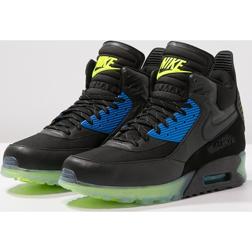 best sneakers 79997 c0dc9 ... Nike Sportswear AIR MAX 90 SNEAKERBOOT ICE Tenisówki i Trampki wysokie  black dark ash