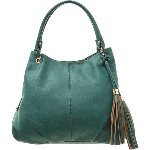 da9165b4bcdba Anna Field Torba na zakupy dark green zalando zielony abstrakcyjne wzory ...