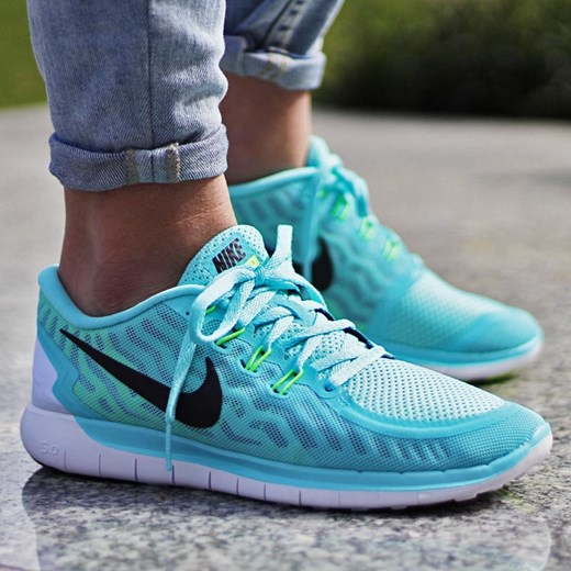 new concept 7220e eeabb Nike WMNS Free 5.0 (724383-400) thebestsneakers-pl turkusowy