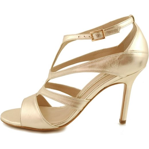 Sandały BALDOWSKI D01340 Złota Skóra