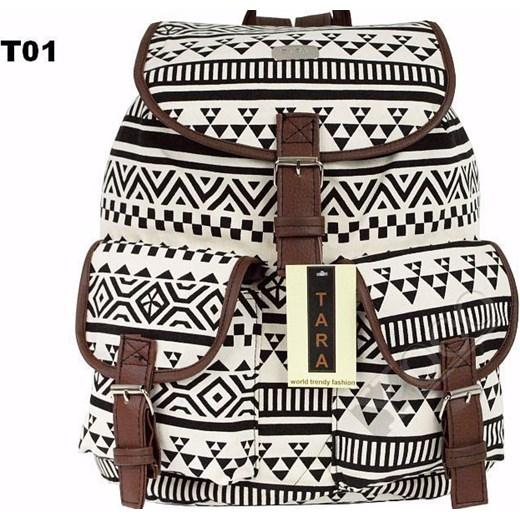 3b0839af3968c ... Polski Plecak Szkolny Vintage Plecaki AZTEC T01 yoco-pl szary duży ...