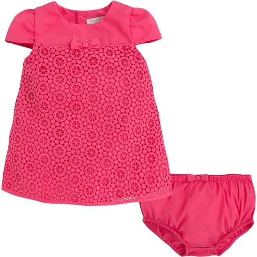 1d26e859c4 ... MAYORAL Sukienka koralowa koronkowa modadladzieci-com-pl rozowy guziki