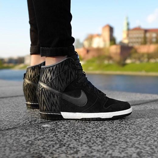 release date: e1bc1 00d24 BUTY NIKE WMNS DUNK SKY HI PRINT 543258 002 sneakerstudio-pl szary damskie  ...