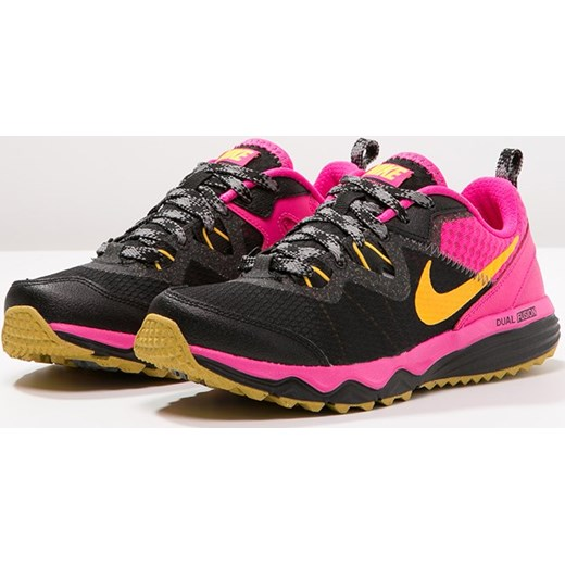 sports shoes 58423 4a7b5 ... Nike Performance DUAL FUSION TRAIL Obuwie do biegania Szlak blacklaser  orangepink fluo