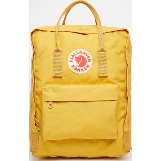 przyjazd Nowe Produkty jakość Fjallraven Kanken Backpack - Yellow asos zolty