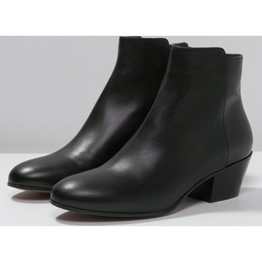 18a42cdc0f8b ... D Archive by L Autre Chose Ankle boot black zalando czarny Botki ...