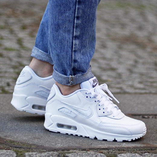 quality design fe886 0d825 ... Nike Air Max 90 Leather (GS)