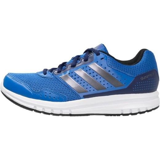 03155101 adidas Performance DURAMO 7 Obuwie do biegania Amortyzacja solar blue/night  metallic/midnight indigo ...