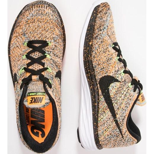 half off 06d96 40a7a ... Nike Performance FLYKNIT LUNAR 3 Obuwie do biegania Lekkość bright  citrus black glacier ice ...