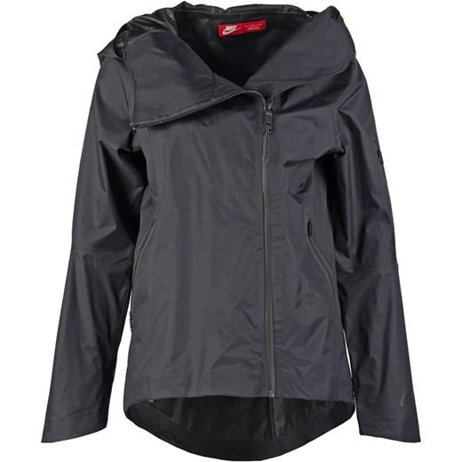 ad325ef59 Nike Sportswear H20 Kurtka przeciwdeszczowa black zalando szary bez  wzorów/nadruków ...