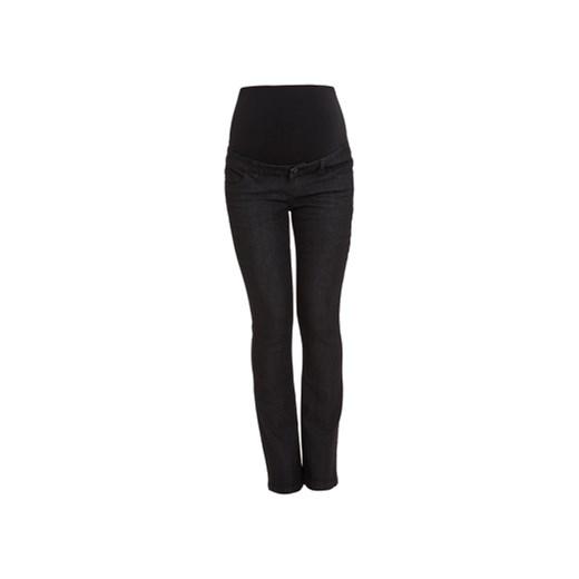 bbb2eaba436910 MAMA LICIOUS Spodnie dla kobiet w ciąży SHELLY black denim dł. 34  pinkorblue-pl