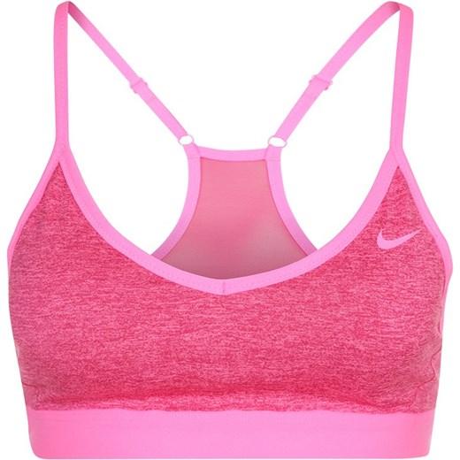 7113ddcfbd775e Nike Performance PRO INDY Biustonosz sportowy sport fuchsia/pink pow  zalando rozowy Biustonosze do biegania w Domodi
