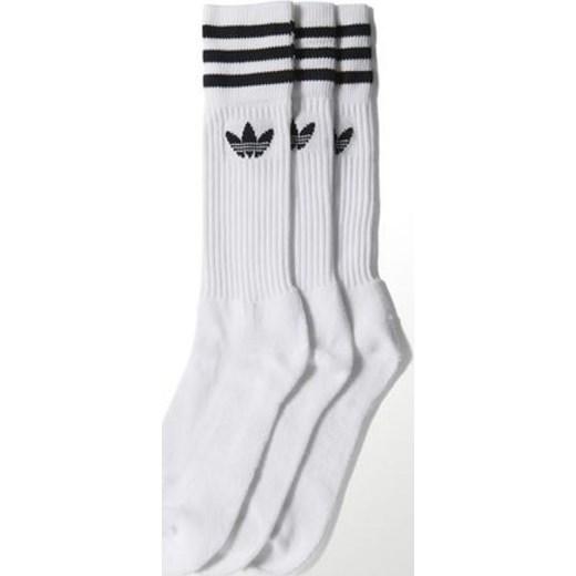 0ef6b4ffbbaec Skarpety adidas Originals Solid Crew Sock 3pack S21489  hurtowniasportowa-net szary bawełna