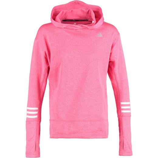 24222af2eef4b5 adidas Performance RESPONSE Bluza super pink/white zalando rozowy Bluzy  sportowe damskie w Domodi