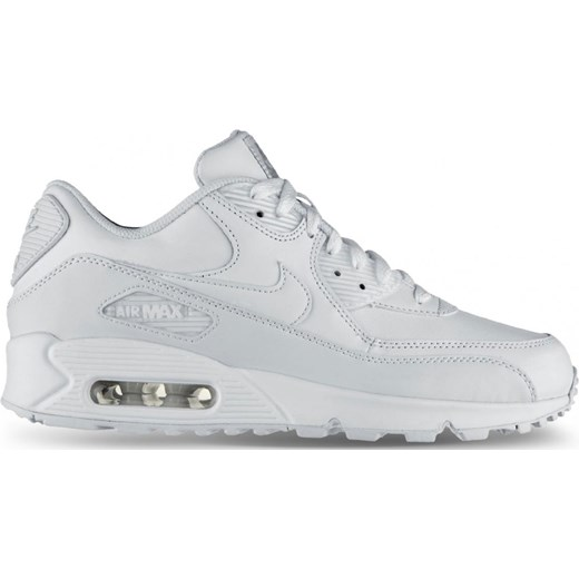 reputable site 6fbb1 49575 Buty Nike Air Max 90 Leather 302519-113 białe nstyle-pl szary Buty do