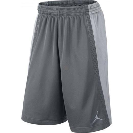 cienie najlepsze oferty na ograniczona guantity Spodenki koszykarskie Nike Jordan Baseline Short M 642321-065  hurtowniasportowa-net szary poliester