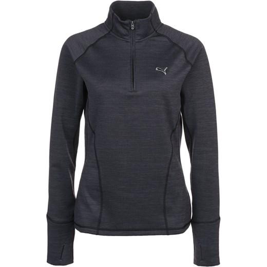 4e76568e5 Puma Golf Bluza black zalando szary Bluzy sportowe damskie w Domodi