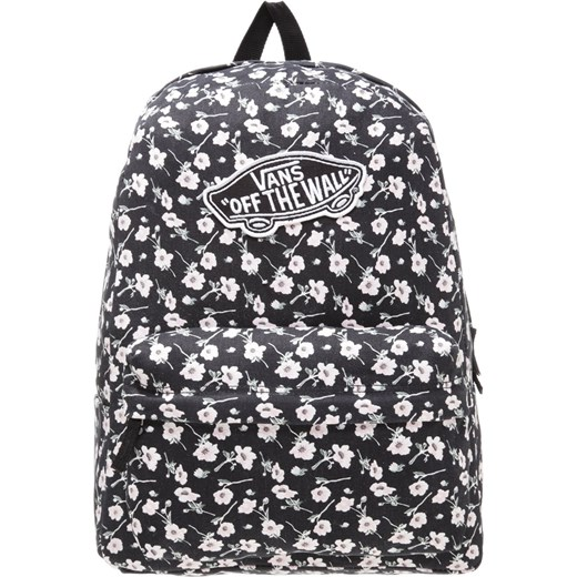 plecak vans czarny w kwiaty
