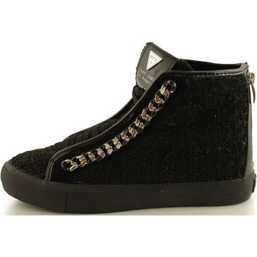 c8c1bc26e584c ... Trampki Guess FL4LLYFAM12 Black 2052-071 zebra-buty-pl czarny  młodzieżowy