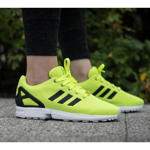 najlepiej sprzedający się oficjalny dostawca najlepsza obsługa BUTY DAMSKIE SNEAKERSY ADIDAS ORIGINALS ZX FLUX M21295 sneakerstudio-pl  zielony do biegania