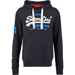 Superdry Bluza eclipse navy