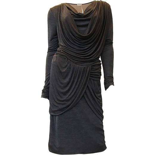 bf52193864 Sukienka Lasagrada (L24751) annopolis-boutique czarny elegancki w Domodi