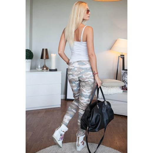 da30b3dfa6be ... Spodnie moro cappuccino fasardi-com szary Spodnie skinny damskie