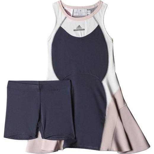 6b82e46a0 Sukienka tenisowa adidas Stella McCartney Barricade Dress Junior AA4599  hurtowniasportowa-net szary elastan