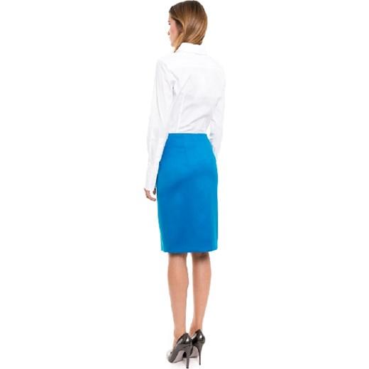a0e14be727 ... Spódnica simple niebieski midi  Spódnica simple Spódnice rozkloszowane  ...