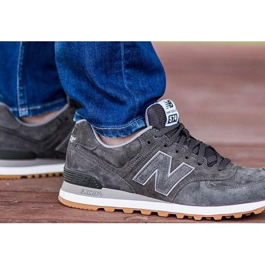 sports shoes e8b8c d5e05 New Balance ML574FSC newbalancesklep-pl granatowy zamsz