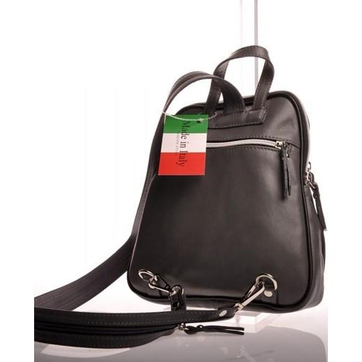 1ecd0cbb0b423 ... MADE IN ITALY Zaino 006 szary włoski plecak skórzany skorzana-com szary  Plecaki damskie ...