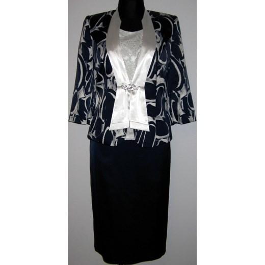 75f09a0567 Elegancka garsonka z.10.52 duże rozmiary 46-58 multibrend czarny elegancki