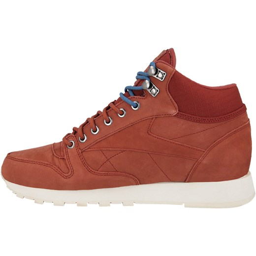 BUTY REEBOK CLASSIC LEATHER MID GORE TEX M49143 sneakerstudio pl czerwony