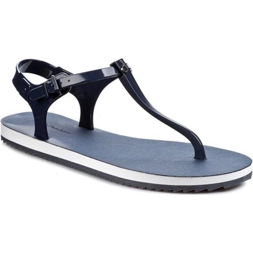 be6d324e3f0ae Japonki CALVIN KLEIN JEANS - Savanna Jelly RE9248 Luna eobuwie-pl niebieski  Sandały japonki