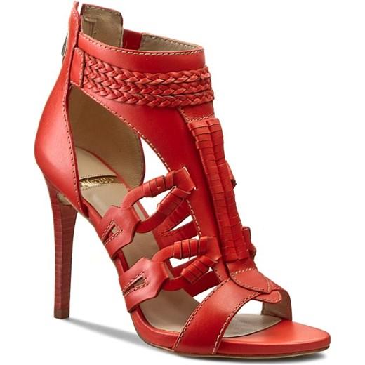 531fc9f993a12 ... Sandały GUESS - BY MARCIANO FL2SPE LEA03 RED eobuwie-pl czerwony bez  wzorów