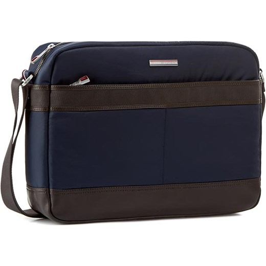 3a89f9696e6a5 Torba na laptopa TOMMY HILFIGER - Olivier Messenger AM0AM00515  Midnight/Coffee Bean 903 eobuwie-