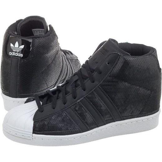 Sneakersy Adidas Superstar UP W S81380 (AD517 a) butsklep pl szary Wysokie trampki damskie