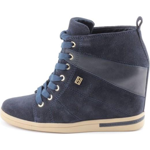 79d48be6b32e2 ... Sneakersy Tommy Hilfiger SEBILLE 5C Midnight 2052-492 zebra-buty-pl  szary Sneakersy