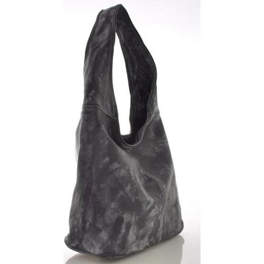 9a8eeb4b7ab9a ... Stylowa skórzana torebka worek cervandone-pl szary materiałowe ...