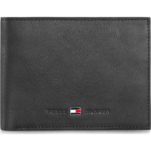 91a9a4415989b Duży Portfel Męski TOMMY HILFIGER - Johnson Cc And Coin Pocket AM0AM00659  Black 002 eobuwie-