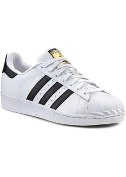Buty adidas - Superstar C77124 Ftwwht/Cblack/Ftwwht eobuwie-pl szary lato - kod rabatowy