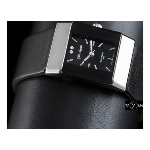 affc92d691148 ... Zegarek damski GINO ROSSI - LACUNA (zg668d) zegarki-cc czarny Zegarki  damskie ...