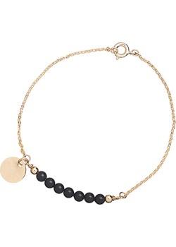 Bransoletka Black Pearls finery bialy metal - kod rabatowy