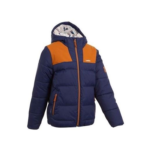 149b3986317be Kurtka narciarska dla dzieci decathlon granatowy Kurtki chłopięce zimowe