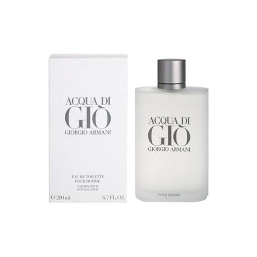 Armani Acqua di Gio Pour Homme woda toaletowa dla mężczyzn 200 ml + do  każdego zamówienia 4930d09b7429
